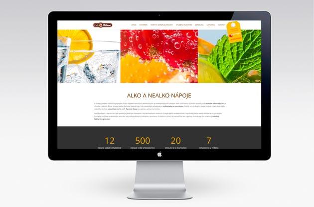 Nová webstránka Cafe Milano